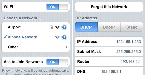 how to check ip address on iphone ip address check in iphone edumobile org 19912