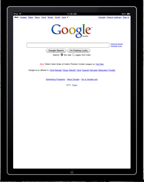 WebView Application In iPad - EDUmobile ORG