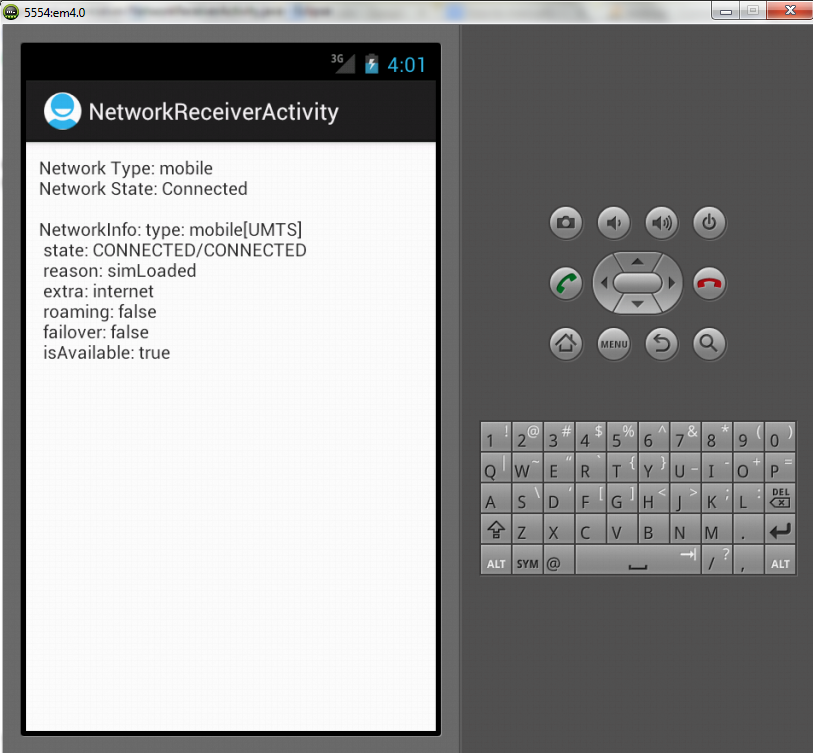 Network Receiver In Android Development - EDUmobile ORG