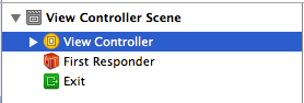 Select the View Controller