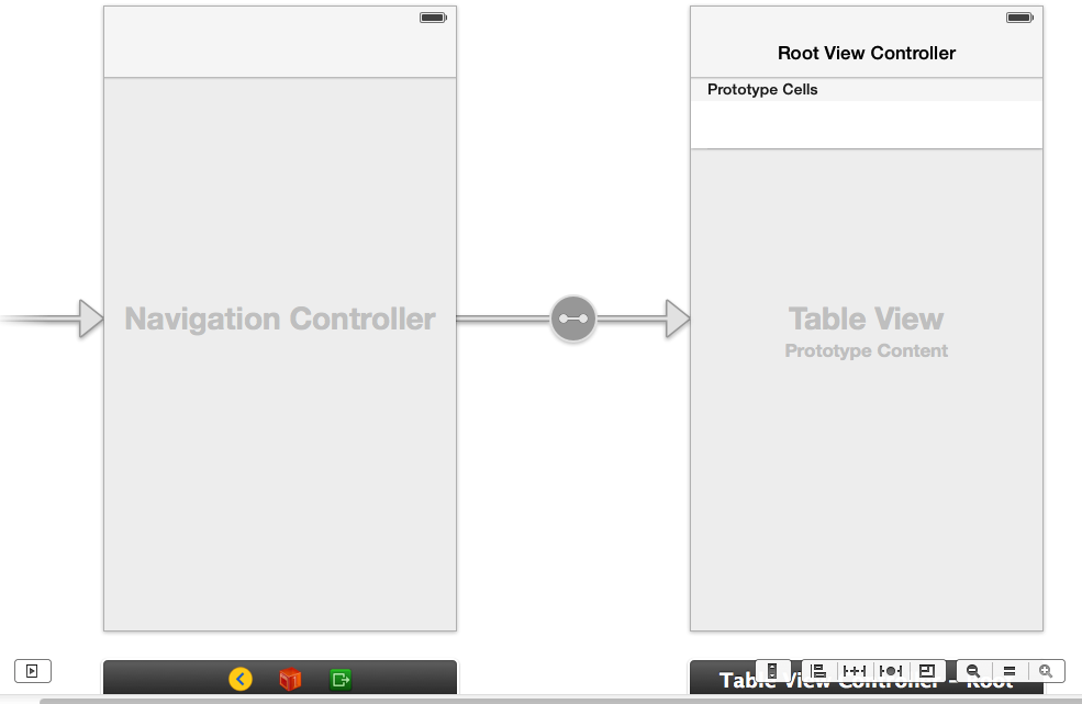 Navigation / Table View Controllers