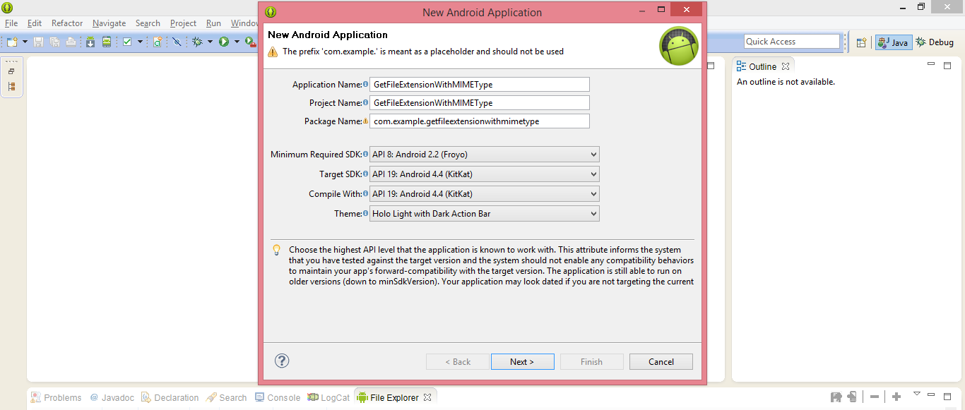 Get File Extension And MIME Type In Android Development - EDUmobile ORG