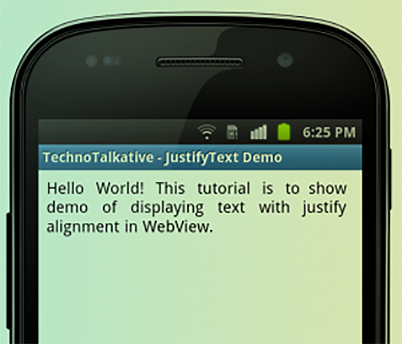 Set a Link Into TextView - EDUmobile ORG
