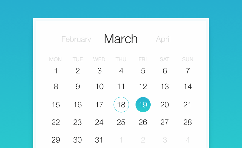 Using android Date Picker